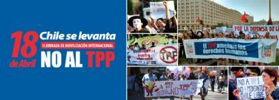 Convocatoria a Jornada Nacional e Internacional #NoalTPP 18 abril 2016