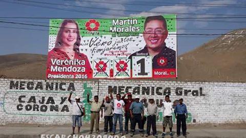 SOCIALISTAS ALLENDISTAS SALUDAN A VERONIKA MENDOZA Y AL FRENTE AMPLIO PERUANO